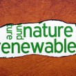 Stock Photo: Nature renewable concept