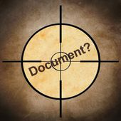 Cible de document — Photo