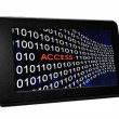 Access concept on Pc tablet — Stock Photo