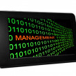 Management concept on PC tablet — Stock Photo #28737735