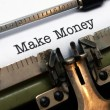 Stock Photo: Make money concept