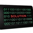 Solution concept on PC tablet — Stock Photo #28739291