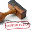 Employment agreement — Stock Photo