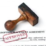 přijetí dohody — Stock fotografie
