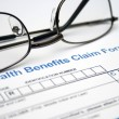 Health claim form — Stock Photo