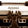 Stock Photo: Appeal concept