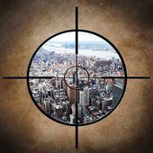 New York target — Stock Photo