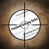 Habilidades para resolver problemas — Foto de Stock