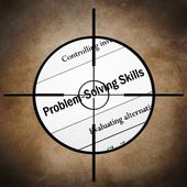Problem solving skills — Stock Photo
