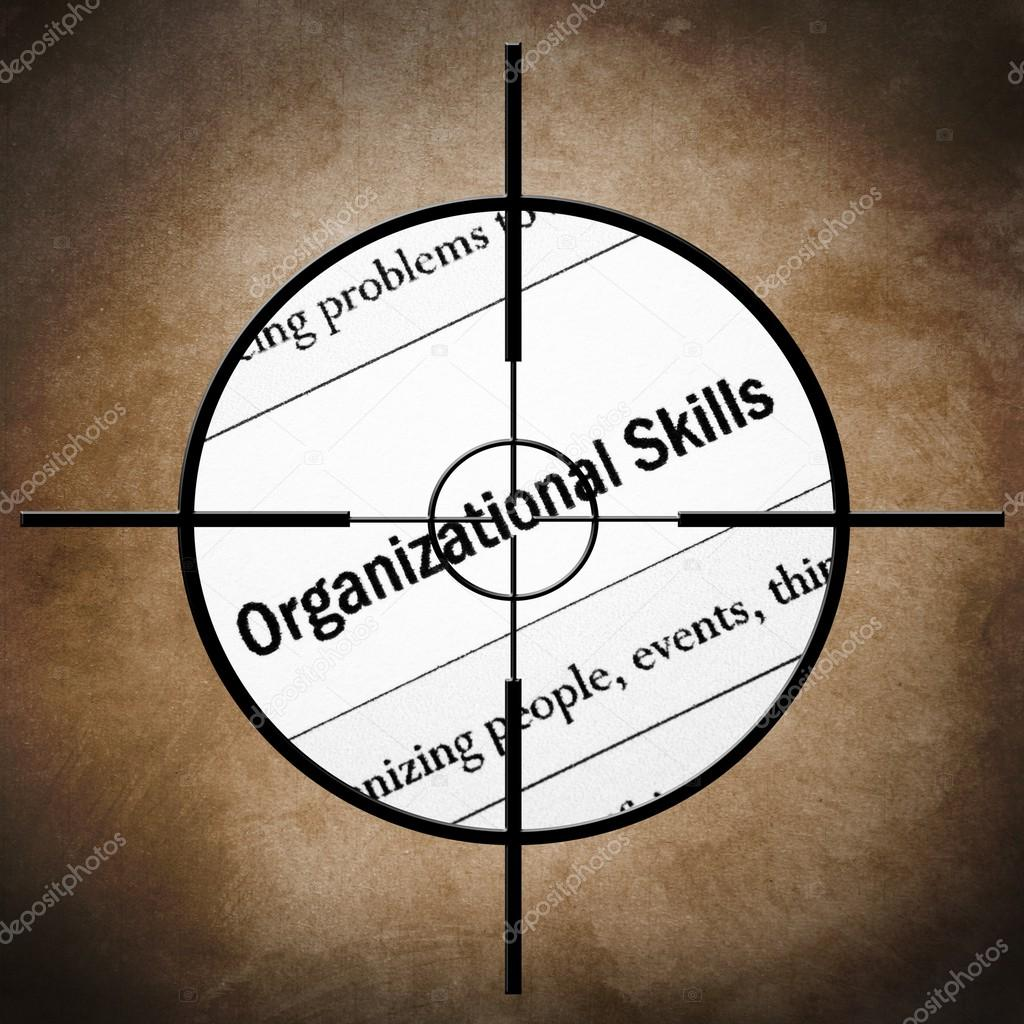 organizational skills target stock photo copy alexskopje  organizational skills target stock photo 29597779