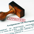 Stock Photo: Assignment of mortgage