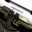 Legislation — Stock Photo