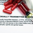 Sexually transmitted disease — Stock Photo