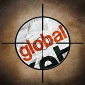 Global target — Stock Photo