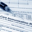 Stock Photo: Immunization concept