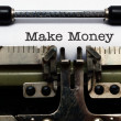 Make money concept — Stock Photo