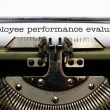 Employee performance evaluation — Stock Photo #30260075