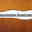 Stock Photo: Immunization
