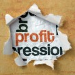 Profit concept — Stock Photo
