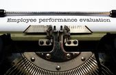 Employee performance evaluation — Stock Photo