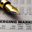 Stock Photo: Emerging market
