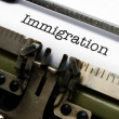 Stock Photo: Immigration