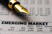 Emerging market — Stock Photo