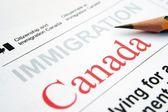 Immigration Canada — Stock Photo