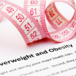 Overweight and obesity — Stock Photo