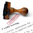 Credit scoring — Stock Photo #31184575