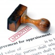 Agreement for appraisement — Stockfoto