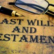 Last will and testament — Stock Photo #31323937