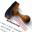 Stock Photo: Refinancing