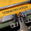 Communication — Stock Photo #31580359