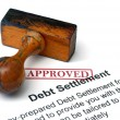 Debt settlement — Stock Photo #31580649