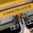 Communication — Stock Photo #31802731