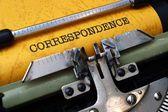 Correspondence — Stock Photo