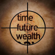 Time future wealth — Stock Photo