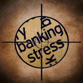 Banca objetivo de estrés — Foto de Stock