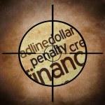 Постер, плакат: FInancial penalty concept