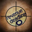 Revenue deadline target — Stock Photo #32983697