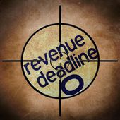 Revenue deadline target — Stock Photo