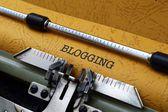 Concepto de blogging — Foto de Stock