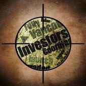 Investors target — Stock Photo