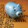 Piggy bank concept — Stock Photo