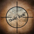 Good luck target — Foto Stock