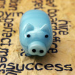 Piggy bank and success concept — Stock Photo