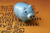 Piggy bank concept — Stock Photo