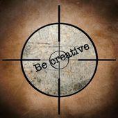 Creatieve doelwit — Stockfoto