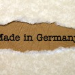 Made in Germany — Stock Photo #34335651
